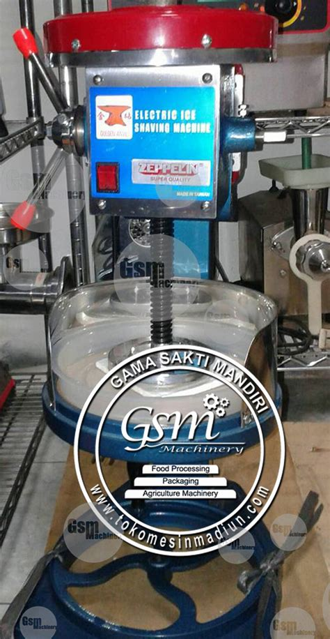 mesin es serut pengoperasian manual dan listrik di madiun