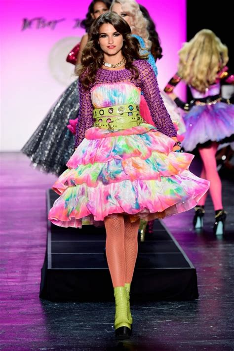 New York Fashion Week Betsey Johnson by Betsey Johnson New York Fashion Week Show Summer