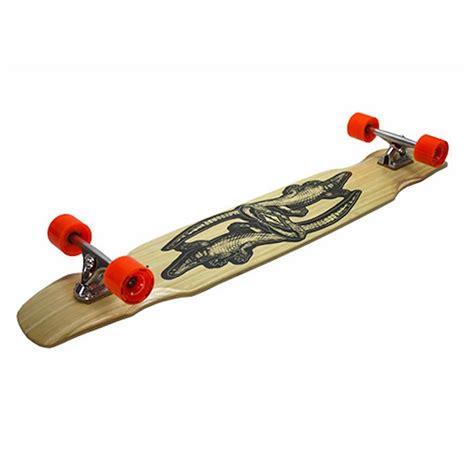 Handcrafted Longboards - longboard larry crocodile machine dancer