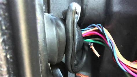 jeep door wire repair youtube