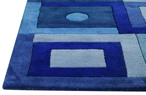 area rug mat mat the basics berlin area rug blue