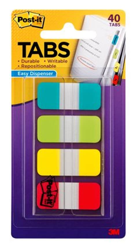 T J Post It Stick Note Tj 44 8 flags tabs page markers