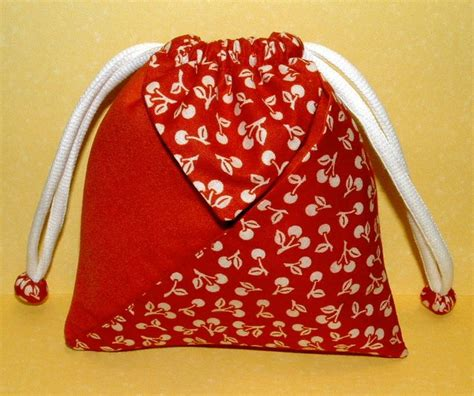 Origami Bag Pattern - tutorial origami pocket pouch sewing pattern free