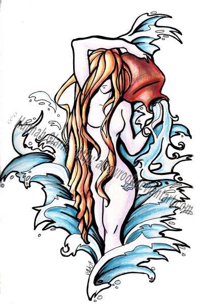 aquarius zodiac tattoo designs aquarius tattoos and designs page 14