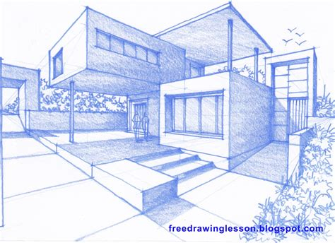 how to draw houses how to draw a house learn to draw