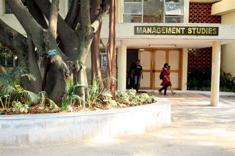Iisc Bangalore Mba Fees Structure by The Department Of Management Studies Indian Institute Of