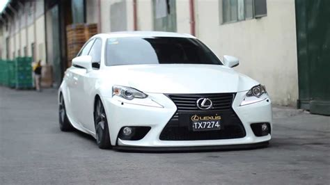 bagged lexus is350 car racing lexus is350 bagged and dropped youtube