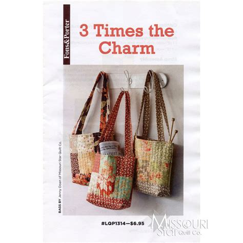 3 times the charm pattern fons porter missouri