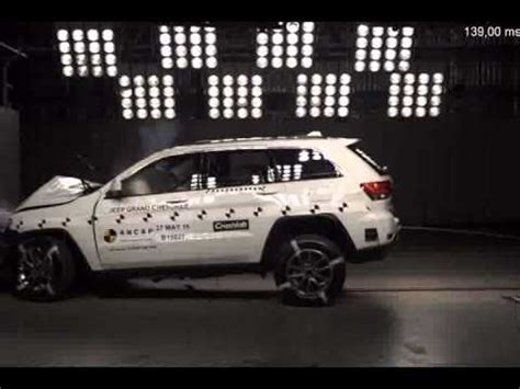 Jeep Grand Crash Test Ancap Crash Test Jeep Grand March 2013