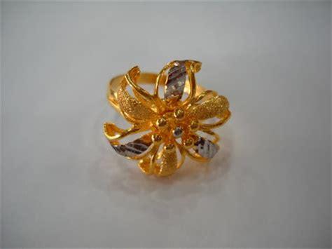 Cincin Emas Variasi Putih 14 nazman enterprise set kahwin emas 916