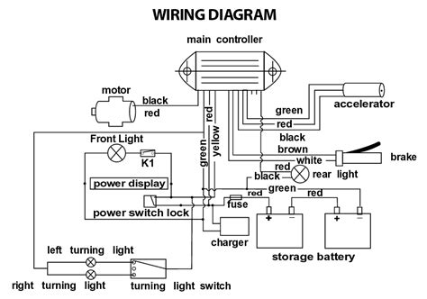 electric scooter wiring diagram owner wiring diagrams