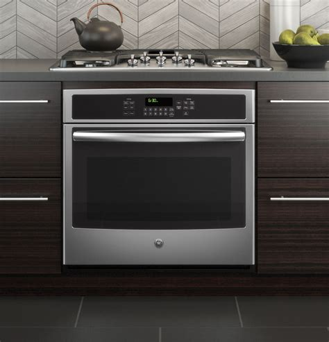 Convection Cooktop Ge 174 30 Quot Built In Single Convection Wall Oven Jt5000sfss