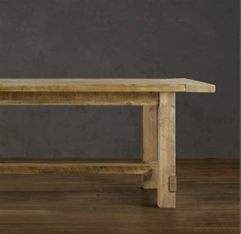 restoration hardware farmhouse table tutu style make your own table