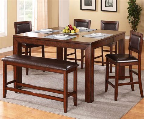 6 piece counter height dining set with bench winners only fallbrook 6 piece counter height dining set