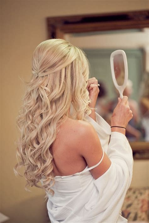 20 awesome half up half wedding hairstyle ideas - Wedding Hair Half Up