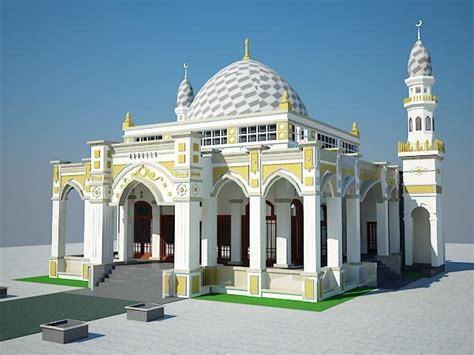 desain kaligrafi masjid rio rachman desain masjid dan mushola