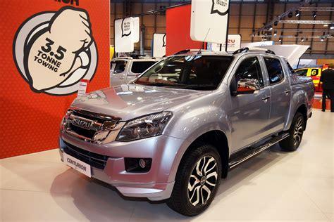 isuzu dmax 2016 isuzu d max centurion pick up pictures auto express