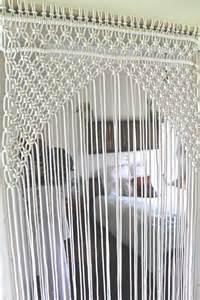 Beads For Door Curtains Macrame Door Certain Macrame Door Arch