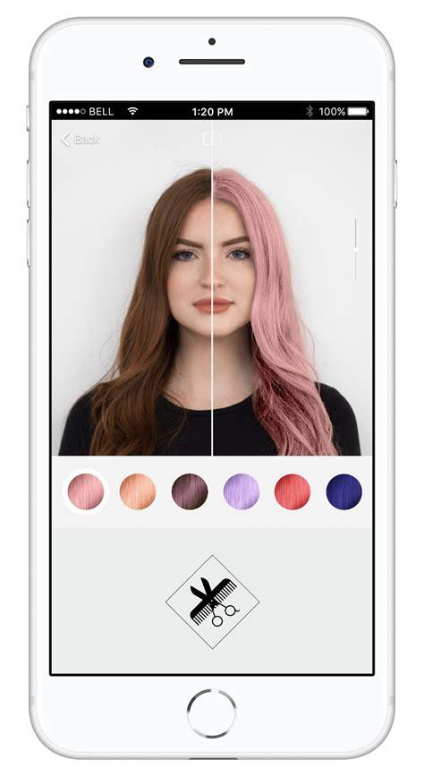 hair color simulator l or 233 al launches 3d ar hair color simulation app news