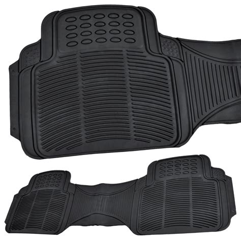 Kia Sedona Floor Mats Floor Mats For Kia Sedona 3 Row Rubber Set Black
