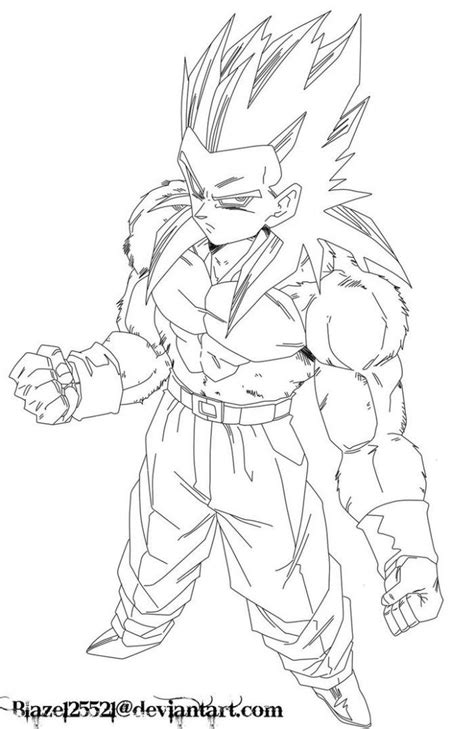 Z Coloring Pages Goku Saiyan 5 Goku Super Saiyan 5 Coloring Pages Coloring Home
