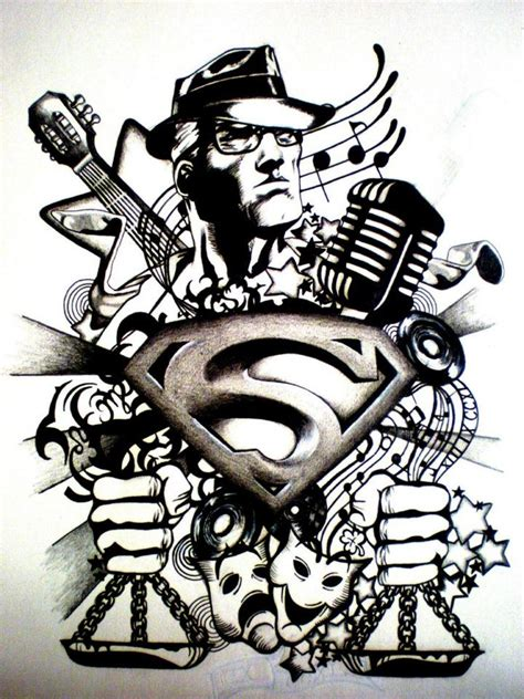 superman tribal tattoo by desertdahlia on deviantart
