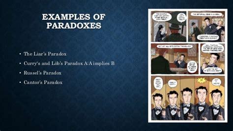 exle of paradox paradoxes