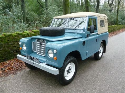 land rover series 3 pwu 840m 1973 land rover series 3 tax exempt