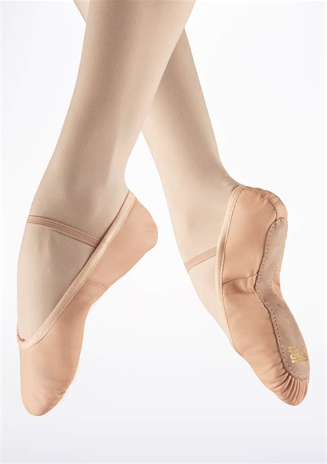 freed sole leather ballet shoe move dancewear 174