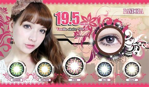 Pandora Softlens Korea pin geo berry holic grey circle lens and gveawy clsed on