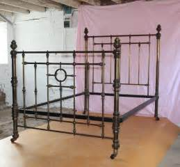 big brass bed large victorian brass bed standard double antiques atlas