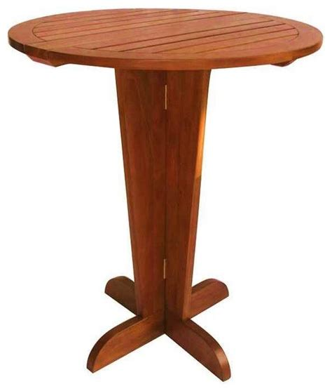 Drop Leaf Bistro Table Drop Leaf Pub Table Contemporary Indoor Pub And Bistro Tables By Shopladder