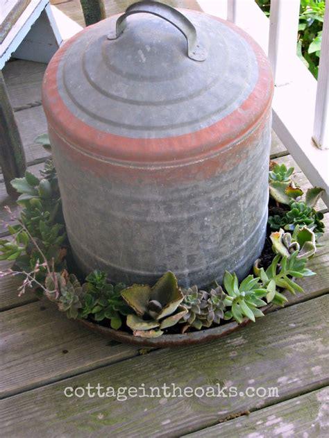 unique plant pots chicken feeder planters unique flower pots