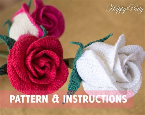 free crochet rose bag pattern crochet rose pattern half open rose bowl shape crochet