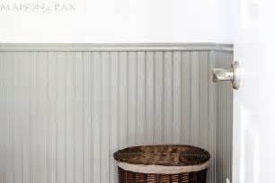 Wainscoting Tips Tips For Painting Wainscoting Maison De Pax