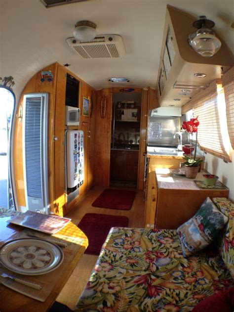 Travel Trailer Interior Lights by Mike S Airstream Interior Airstreaming Retro Trailers Airstream Interior And