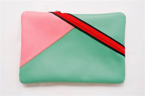 Faux Leather Color Block Pouch 50 best htw market stall images on
