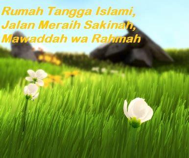 rumah tangga islami jalan meraih sakinah mawaddah wa