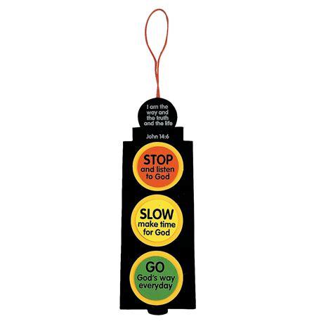 inspirational traffic light craft kit oriental trading