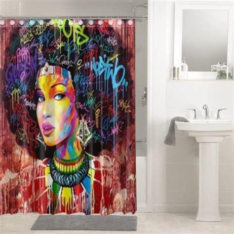 shower curtains art shower curtain 2