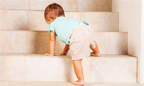 baby falls off bed how to baby proof your stairs parent guide