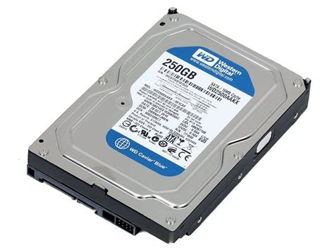 Hardisk Wd 250gb wd blue wd2500aakx 16mb 250gb disk drive