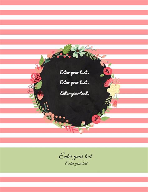 binder cover template free binder cover templates
