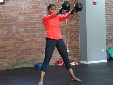 kettlebell double swing kettlebells for sports performance training a 12 week