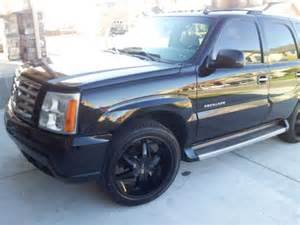 Used Cadillac Escalade Rims For Sale Find Used 2006 Black Cadillac Escalade On 22 Quot Rims In