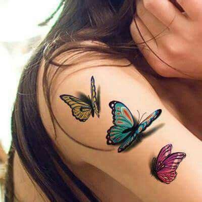 tattoo 3d di bandung oltre 25 fantastiche idee su tatuaggi di farfalle su
