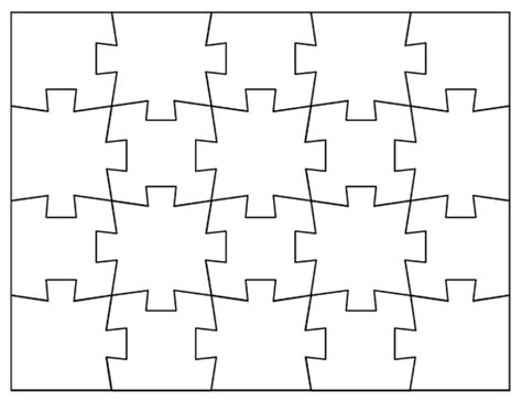 puzzle template 20 pieces tim de vall comics printables for