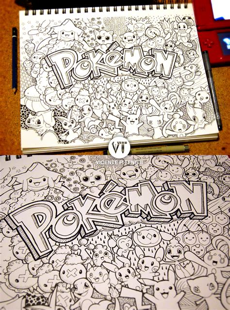 how to do doodle for vicente teng ii
