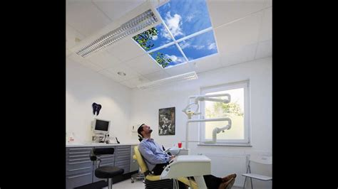 plafond lumineux pour cabinets dentaires la compagnie du