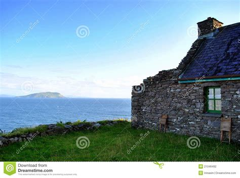 Seaside Cottage Plans Old Cottage By The Sea Stock Photo Image Of Window Ring